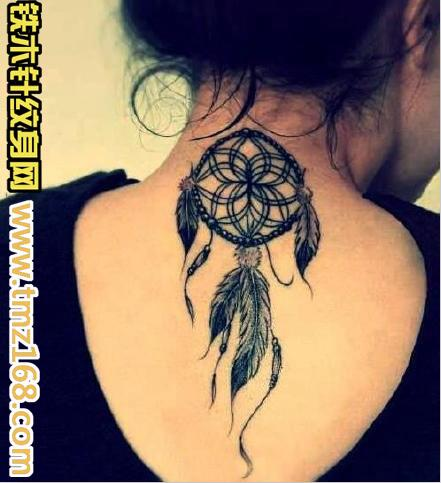 清新玫瑰花纹身手稿展示