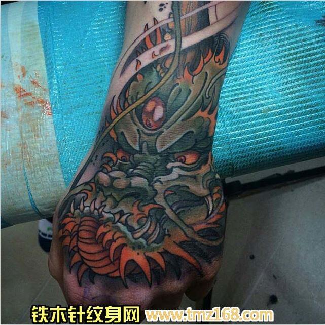 手背小纹身图案
